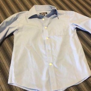 Cherokee blue dress shirt